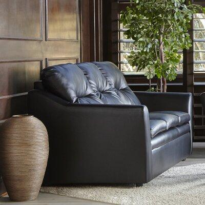 Aura Sofa Upholstery: Black