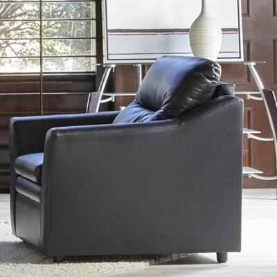 Aura Chair and a Half Upholstery: Black