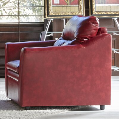 Aura Chair and a Half Upholstery: Red