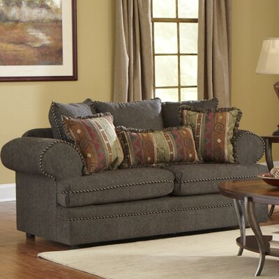 Hades Loveseat Upholstery: Navy Blue