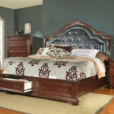 Goldsmith Upholstered Platform Bed