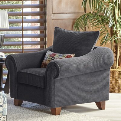 Slark Armchair Color: Charcoal