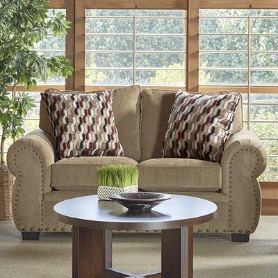 Achilles�Loveseat Upholstery: Tan