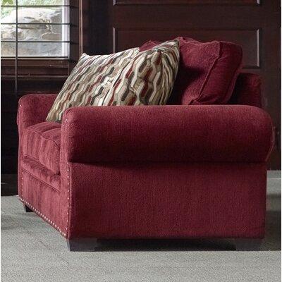Achilles�Loveseat Upholstery: Wine