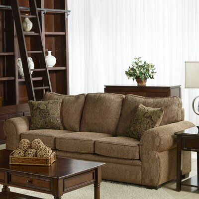 Poseidon Sofa Upholstery: Brown
