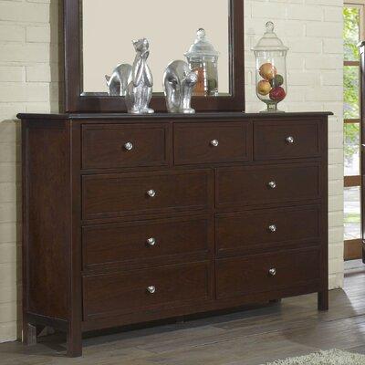 Martin 9 Drawer Standard Dresser