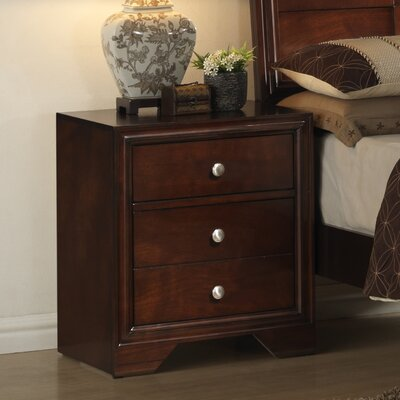 Erin 3 Drawer Nightstand
