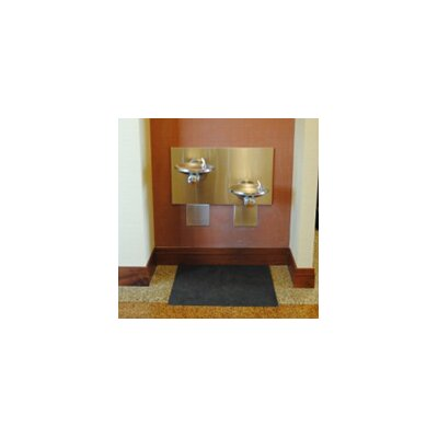 Facility Hygiene Solid Doormat (Set of 2) Rug Size: 3 x 25