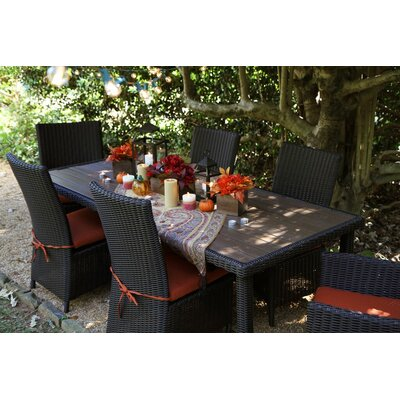 Denali 7 Piece Dining Set with Cushion