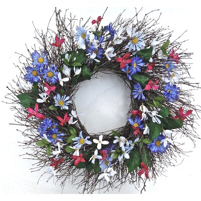 22 Faux Floral Wreath