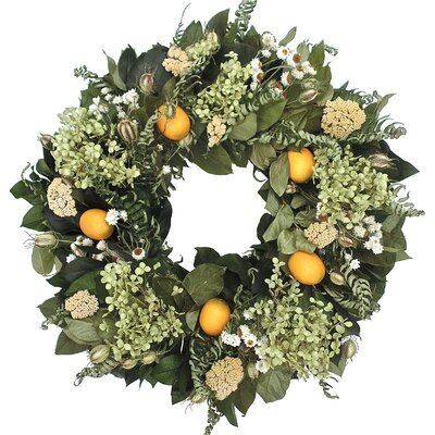 22 Lemon Wreath