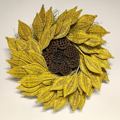 Urban Sunflower 22 Wreath