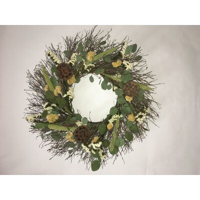 22 Tropical Lotus Wreath