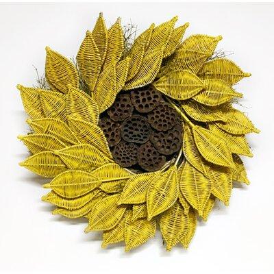 """Urban Sunflower 22"""" Wreath 122808"""