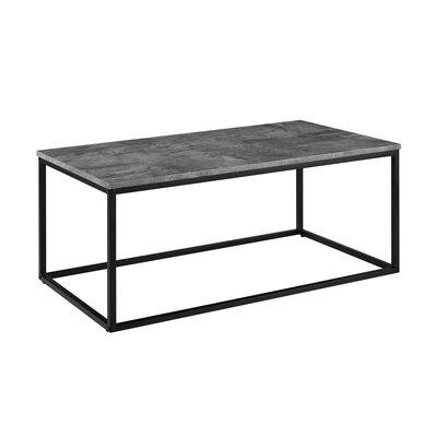 Arianna Coffee Table Color: Dark Concrete