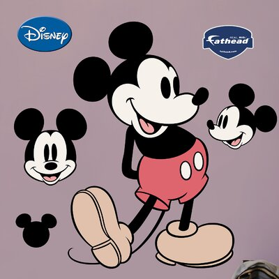 Disney Classic Mickey Mouse Wall Decal 74-74035