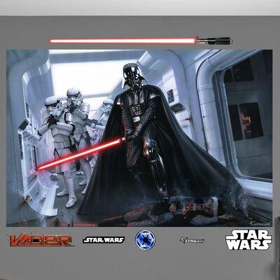 Fathead Star Wars Darth Vader & Stormtroopers Fallen Rebel Wall Mural at Sears.com