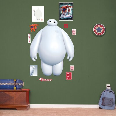 RealBig Disney Big Hero 6, White Baymax Wall Decal 74-74641