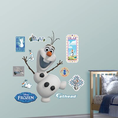 RealBig Disney Frozen Olaf Wall Decal 74-74607