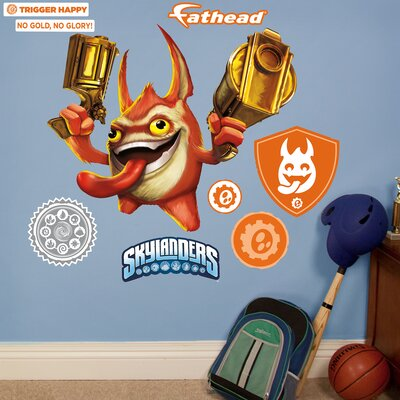 Skylanders Activision - Trigger Happy Junior Peel and Stick Wall Decal 15-16936