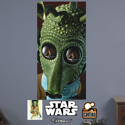 Star Wars Greedo Peel and Stick Wall Mural 92-92187