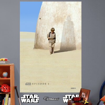 Star Wars Episode I Movie Poster Peel and Stick Wall Mural 92-92188