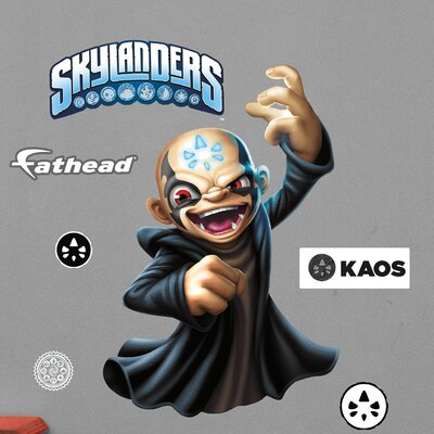 Skylanders Activision - Kaos Junior Peel and Stick Wall Decal 15-16942