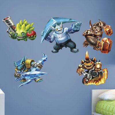 Skylanders Activision Trap Team Peel and Stick Wall Decal 1082-00004