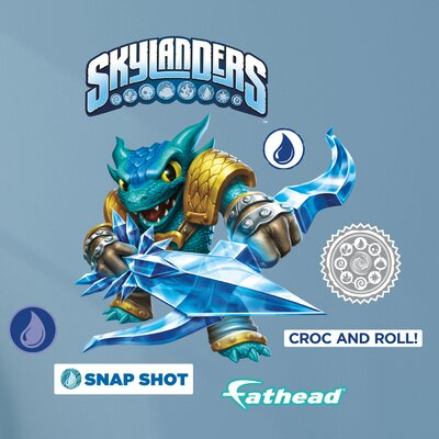Skylanders Activision - Snap Shot Junior Peel and Stick Wall Decal 15-16941