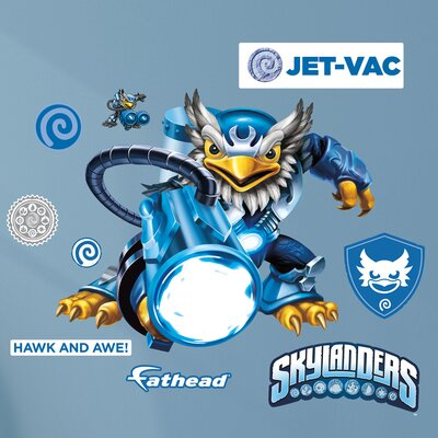 Skylanders - Activision - Jet - Vac Junior Peel and Stick Wall Decal 15-16937