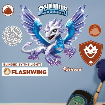 Skylanders - Activision - Flashwing Junior Peel and Stick Wall Decal 15-16933