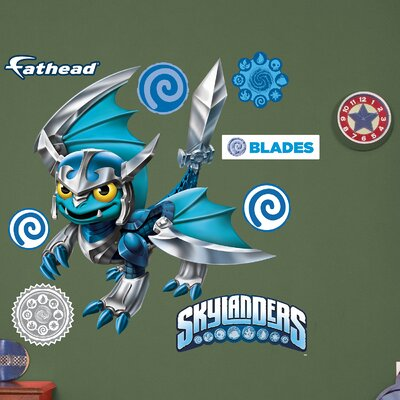 Skylanders Blades Peel and Stick Wall Decal 1082-00017