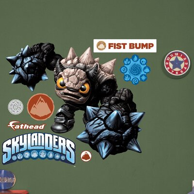 Skylanders Activision - Fist Bump Peel and Stick Wall Decal 1082-00019