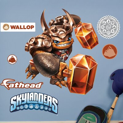 Skylanders Activision - Wallop Junior Peel and Stick Wall Decal 15-16940
