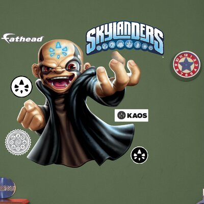 Skylanders Activision - Kaos Peel and Stick Wall Decal 1082-00012