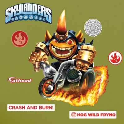 Skylanders Activision - Fryno Junior Peel and Stick Wall Decal 15-16944