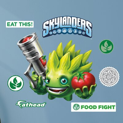 Skylanders Activision - Food Fight Junior Peel and Stick Wall Decal 15-16943
