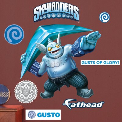Skylanders Activision - Gusto Junior Peel and Stick Wall Decal 15-16945
