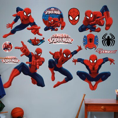 Marvel Ultimate Spider-Man Big Wall Decal 96-96106