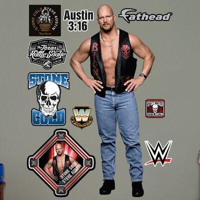 WWE Stone Cold Steve Austin Big Wall Decal 93-93030