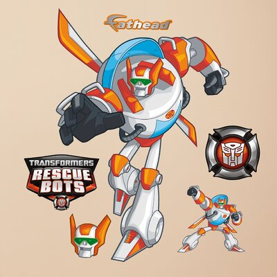 Hasbro Transformers Blades Rescue Bots Peel and Stick Wall Decal 1030-00024