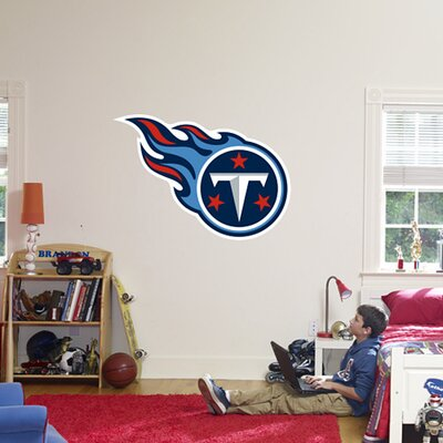NFL Logo Wall Decal NFL Team: Tennessee Titans 14-14033