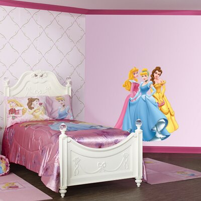 Aurora, Cinderella and Belle Peel and Stick Wall Graphic