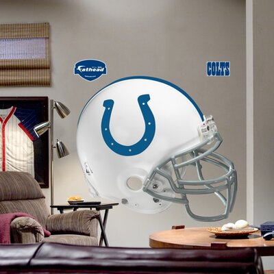 NFL Helmet Wall Decal NFL Team: Indianapolis Colts 11-10014