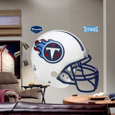 NFL Helmet Wall Decal NFL Team: Tennessee Titans 11-10031