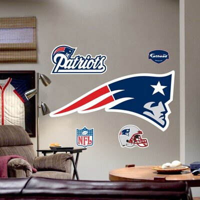 NFL Logo Wall Decal NFL Team: New England Patriots 14-14021