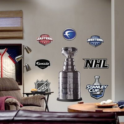 NHL Logo Wall Decal NHL Team: Stanley Cup 64-64233