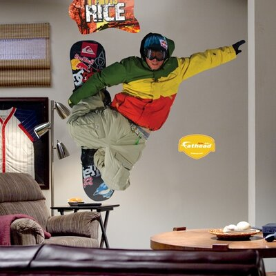 Action Sports Motocross Wall Decal Driver: Travis Rice