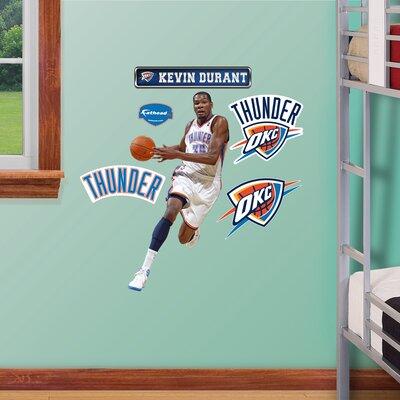 NBA Wall Decal NBA Player: Oklahoma City Thunder - Durant