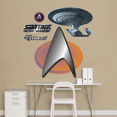 Star Trek The Next Generation Insignia Wall Decal 15-16610